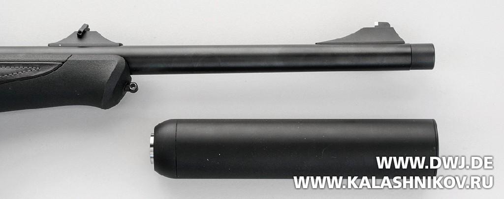 Blaser R8 Professional с отсоединенным глушителем. DWJ. Журнал Калашников