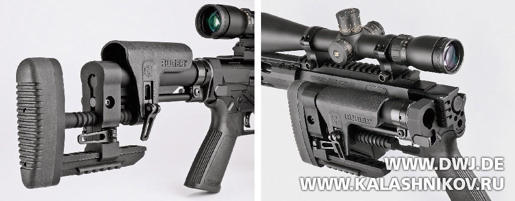 Приклад винтовки Ruger RPR. Журнал Калашников