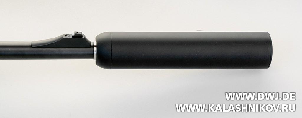 Blaser R8 Professional с установленным глушителем. DWJ. Журнал Калашников