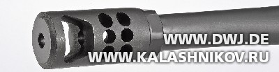 Дульный тормоз винтовки Ruger RPR. Журнал Калашников