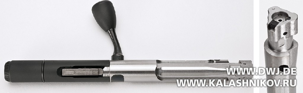 Затвор винтовки Ruger RPR. Журнал Калашников