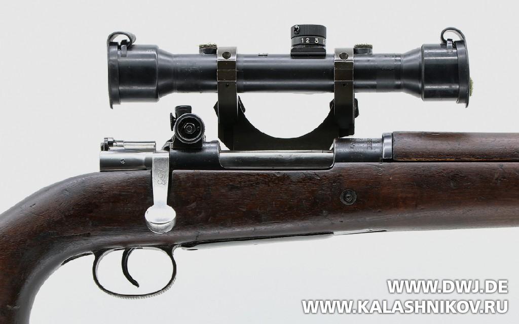 Рукоять затвора винтовки Mauser М 63. Журнал Калашников. DWJ