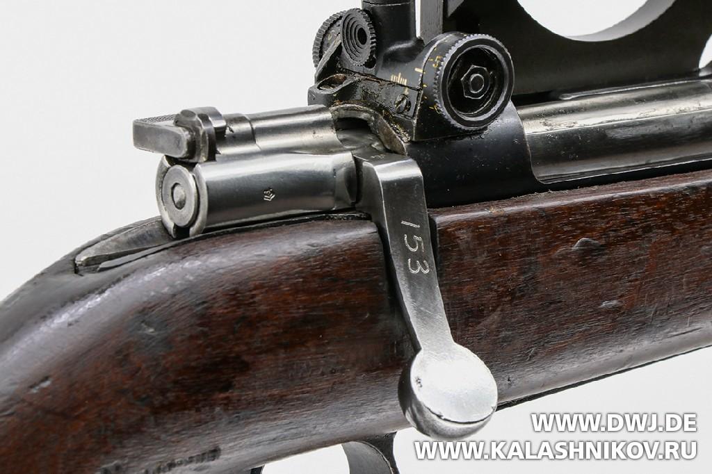 Курок затвора винтовки Mauser М 96. Журнал Калашников. DWJ