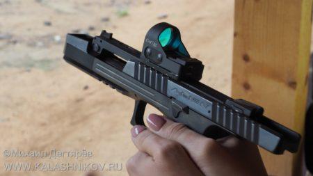 Laugo Arms Alien, Alien, pistol Alien, оружие, пистолет