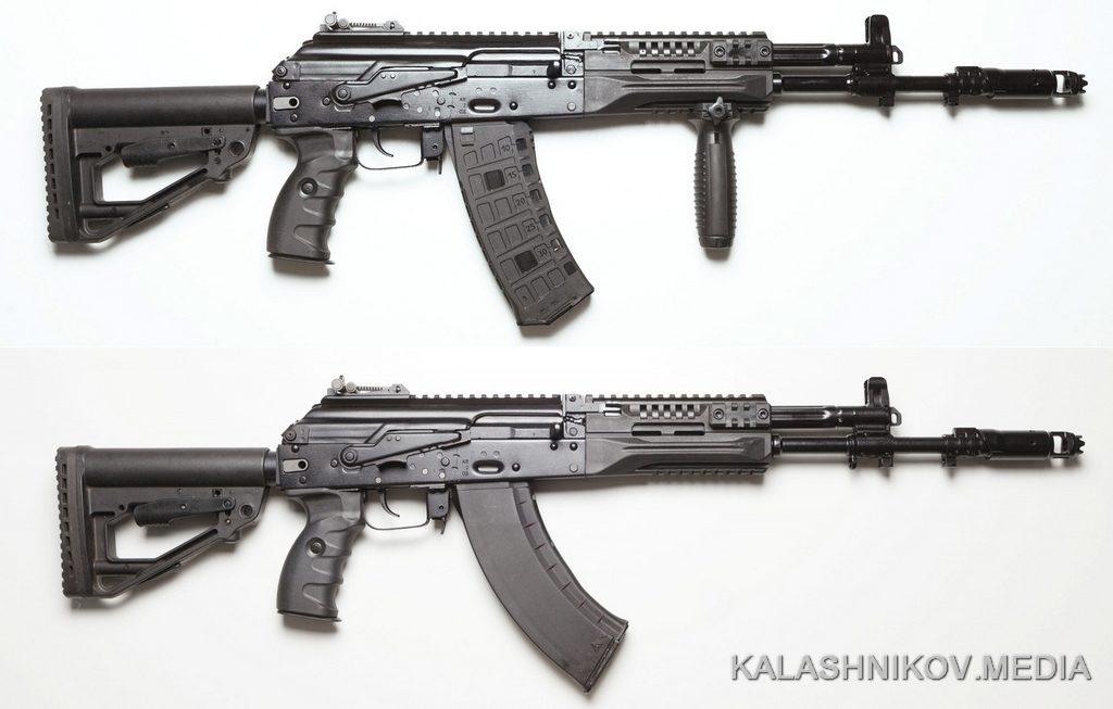 автомат ак-12, ак-15,журнал калашников