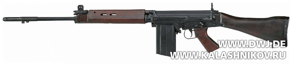 Винтовка С1 FN NATO Nominated Weapon. Журнал Калашников