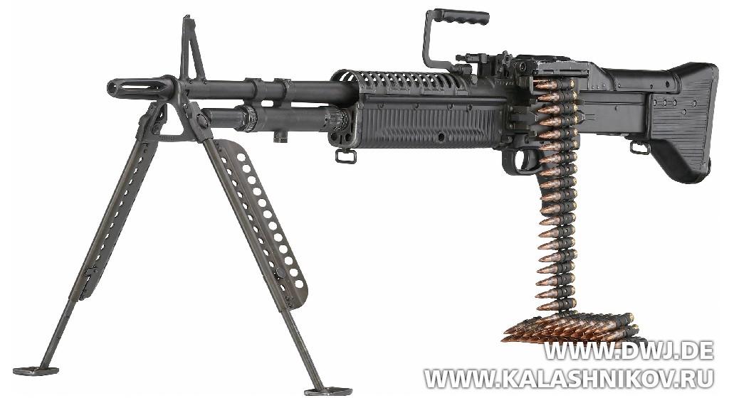 Пулемёт М60 NATO Nominated Weapon. Журнал Калашников