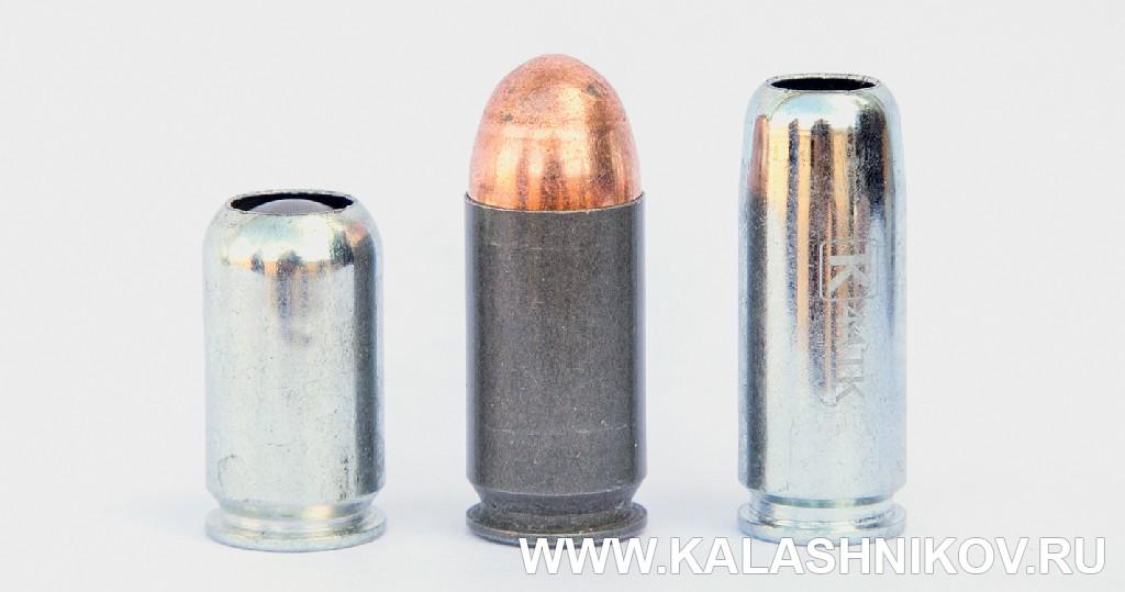 Патроны  .45 Rubber, .45 ACP и .44ТК, Colt 1911,Кольт 1911, ТК1911Т, Техкрим, журнал Калашников