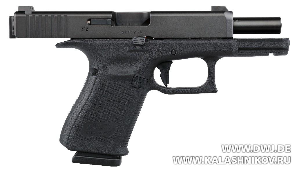 Некачающийся ствол пистолета Glock G46. DWJ. Журнал Калашников