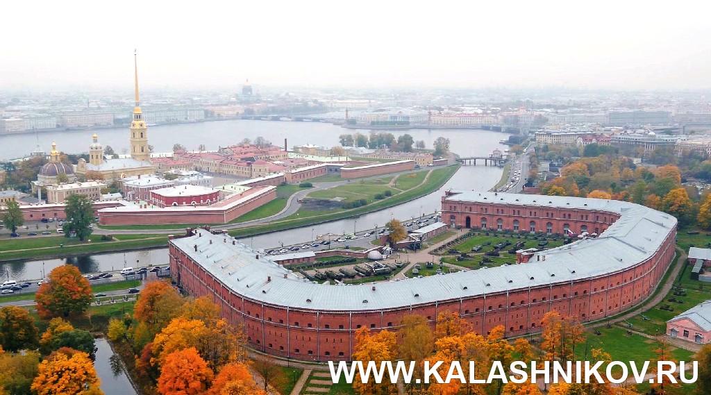 Вид артиллерийского музея с высоты птичьего полёта. Журнал Калашников
