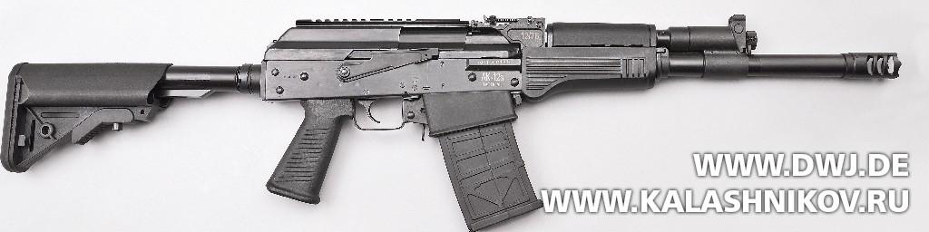 Приклад DM AK-12 Tactical. Взломщик дверей. Журнал Калашников. DWJ