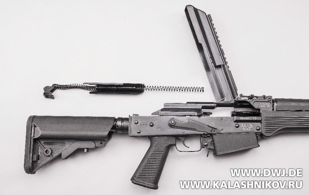 Затвор DM AK-12 Tactical. Взломщик дверей. Журнал Калашников. DWJ