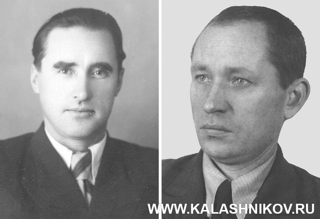 А. А. Дементьев и А. А. Булкин . Журнал Калашников