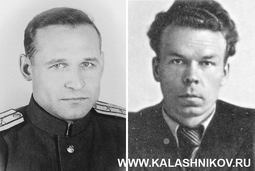 В.С. Дейкин и А. А. Зайцев. Журнал Калашников