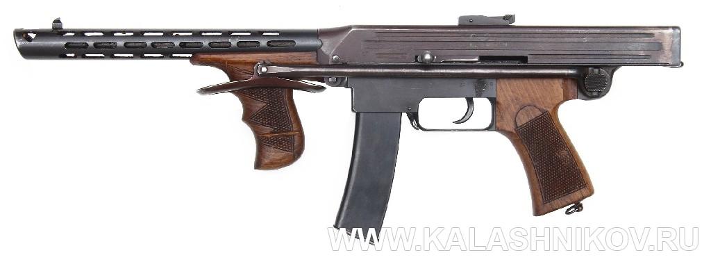 7,62-мм пистолет-пулемёт Калашникова. 1942 г.. Журнал Калашников