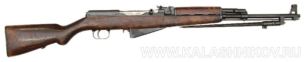 Самозарядный карабин Калашникова. 1945 г. Журнал Калашников