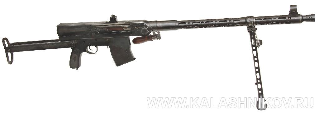 7,62-мм ручной-пулемёт Калашникова. 1942 г.. Журнал Калашников