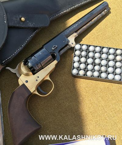 Реплика американского револьвера от компании Pietta. Журнал Калашников