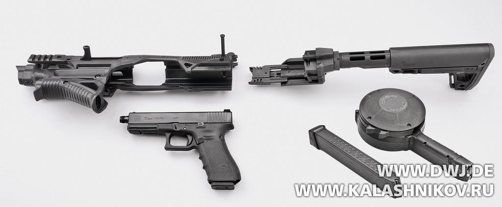 Встраивание пистолета Glock 17 Gen4 SD в набор для тюнинга пистолетов IMI Kidon. Журнал Клашников. DWJ
