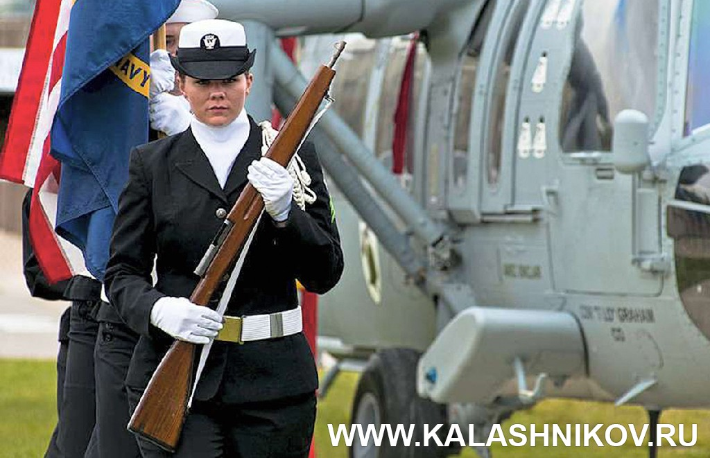 М-30 Drill team rifle. Журнал Калашников