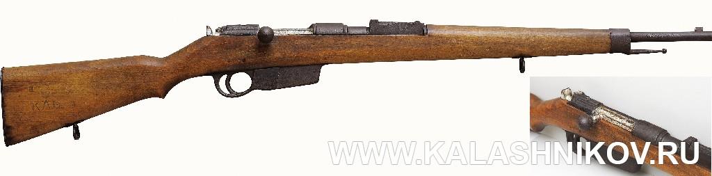 Венгерская тренировочная винтовка типа 35М. Журнал Калашников