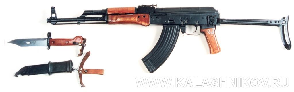 Штык-нож 6х3 для автомата Калашникова. Журнал Калашников