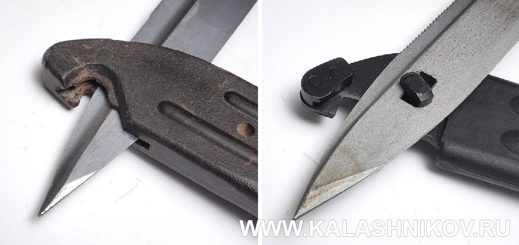 Приспособления для реза проволоки штык-ножей 6Х5 для автомата Калашникова. Журнал Калашников