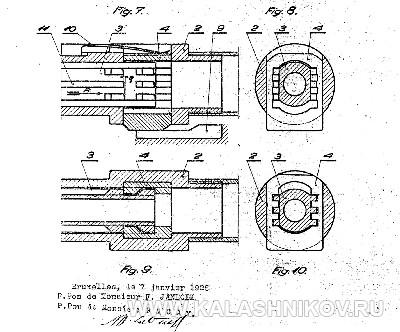 Схема 2 из патентной документации пистолета Strike One. Журнал Калашников