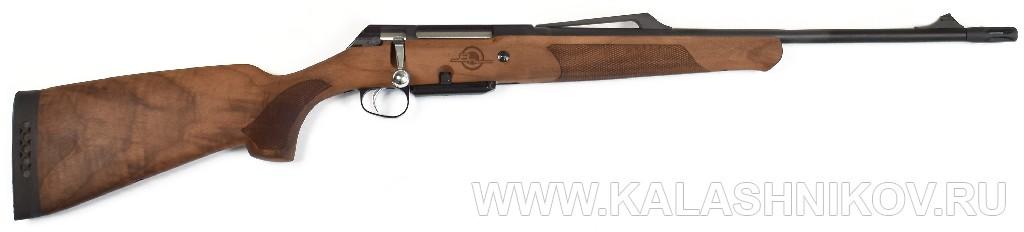 Карабин ВПО-114 «Таёжник» калибра .308 Win с деревянной ложей. Журнал Калашников
