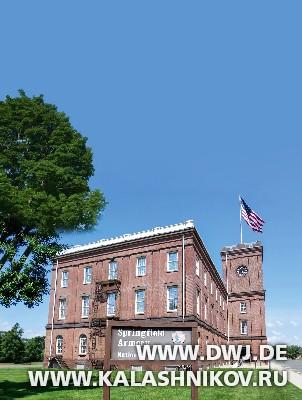 Главное здание Спрингфилдского музея.  Журнал Калашников. DWJ