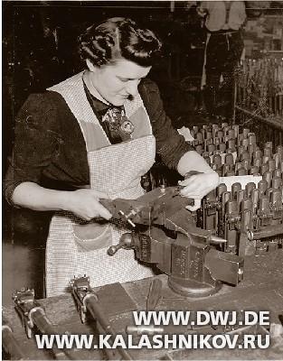 изготовление деталей длявинтовки М1 Garand.  Журнал Калашников. DWJ
