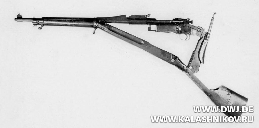 Архивное фото винтовки Гиберсона. Журнал Калашников. DWJ
