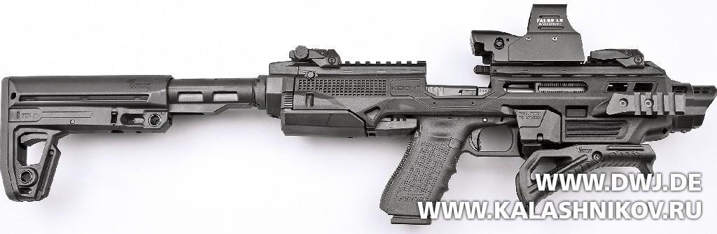 Набор для тюнинга пистолетов IMI Kidon. Журнал Клашников. DWJ