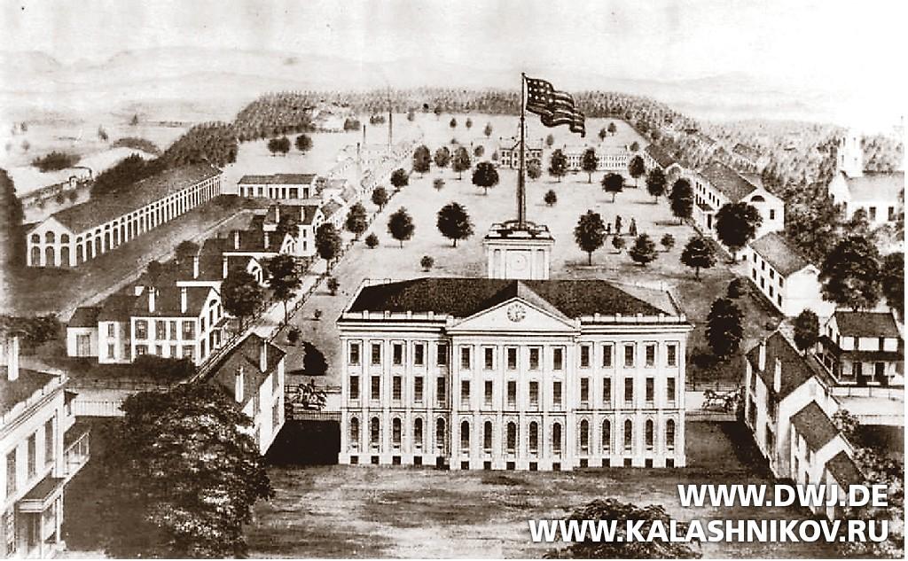 Спрингфилдский арсенал в 1860 году. Журнал Калашников. DWJ