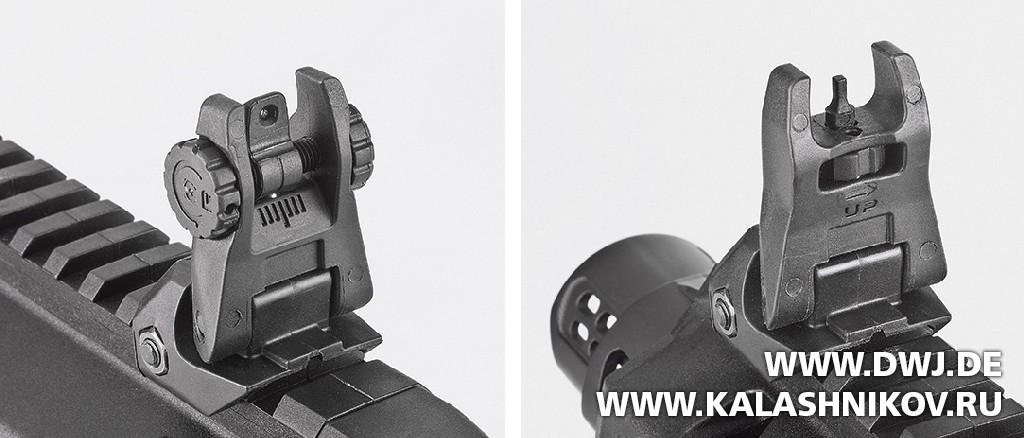 Прицельные приспособления набора для тюнинга пистолетов IMI Kidon. Журнал Клашников. DWJ