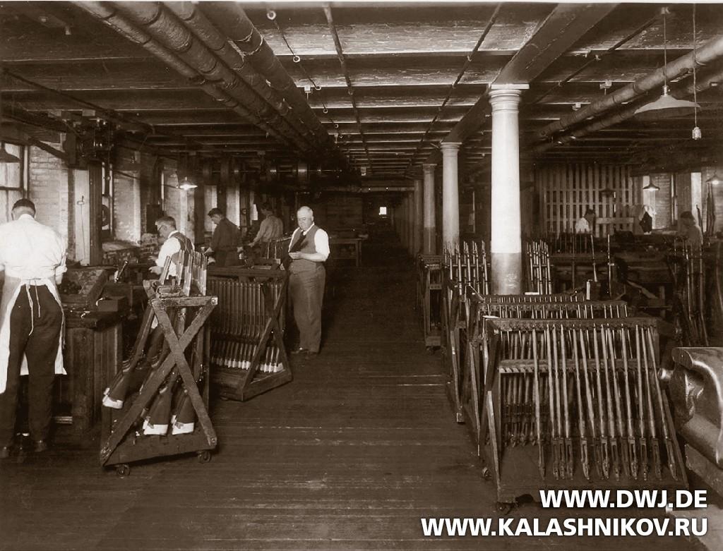 Окончательная сборка штатной модели винтовки США обр. 1903 г..  Журнал Калашников. DWJ