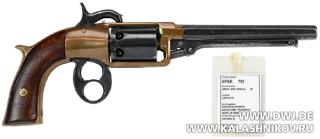 Револьвер Savage North.  Журнал Калашников. DWJ