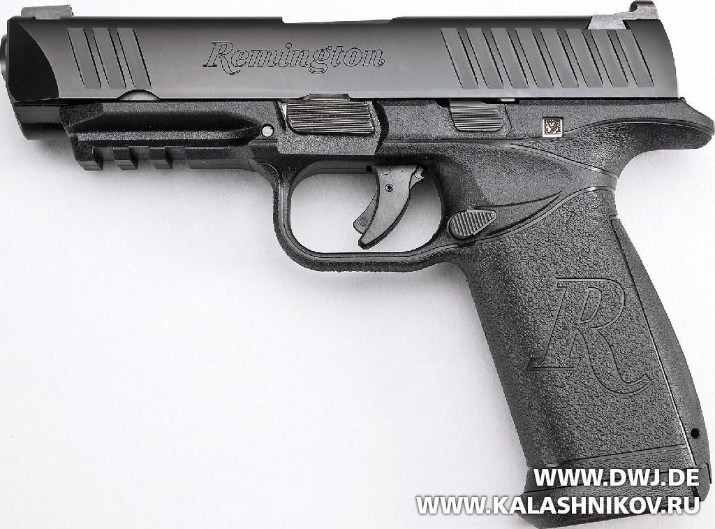 Пистолет Remington RP9. Общий вид. Журнал Калашников