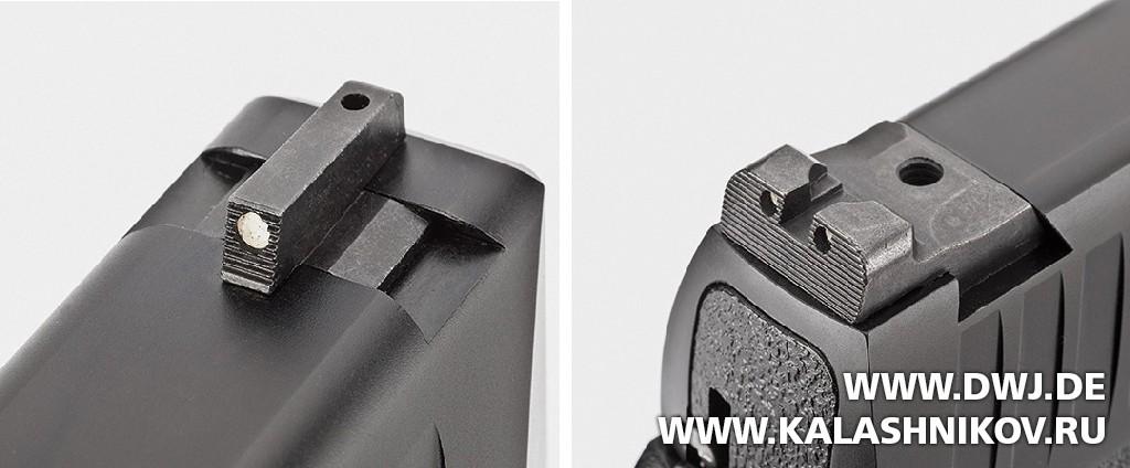 Пистолет Remington RP9. Прицельные приспособления. Журнал Калашников