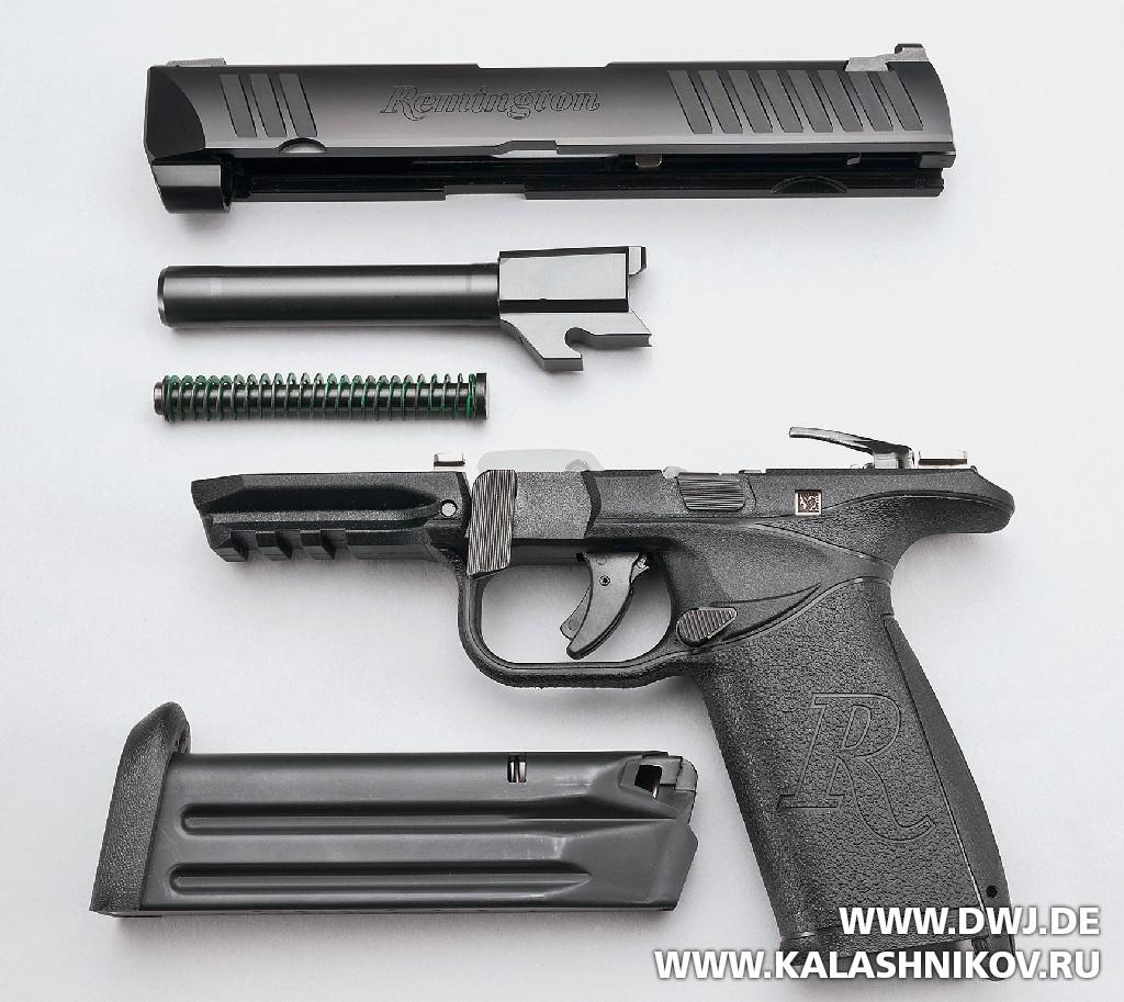 Пистолет Remington RP9. Неполная разборка. Журнал Калашников