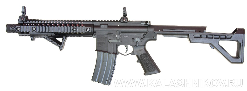 Газобаллонная автоматическая винтовка DPMS SBR. Журнал Калашников