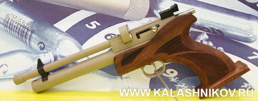 Газобаллонный пистолет Pardus HTA. Журнал Калашников