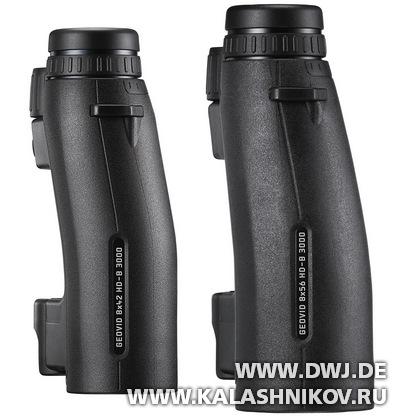 Бинокли Leica Geovid HD-B 3000 вид сбоку. Журнал Калашников. DWJ