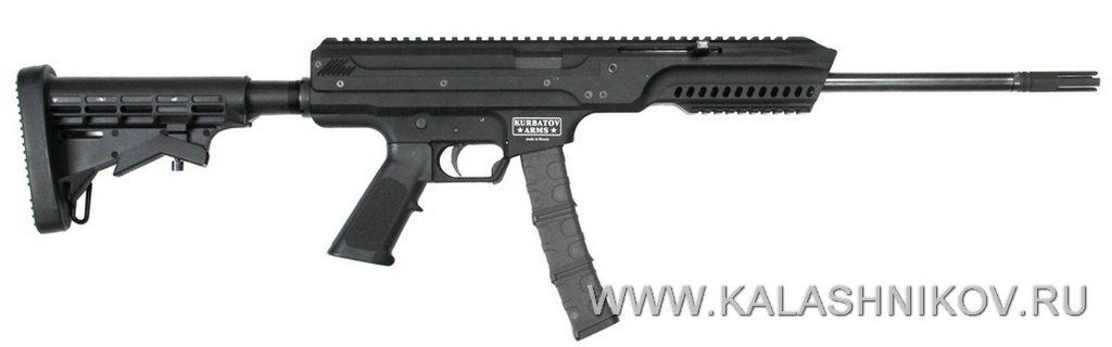 пистолет-карабин, журнал калашников, курбатов армс, kurbatov arms r-701