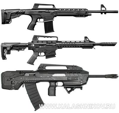 Самозарядные ружья KRX, K12 и Compact. Журнал Калашников