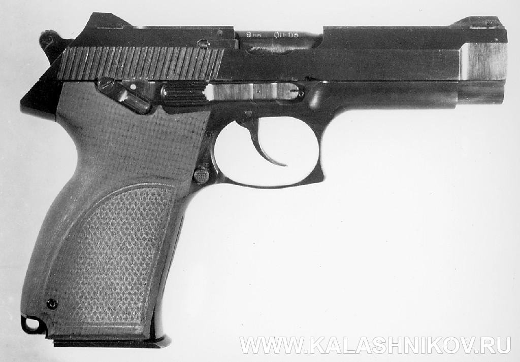 7,62/9-мм пистолет «Грач-2». Журнал Калашников