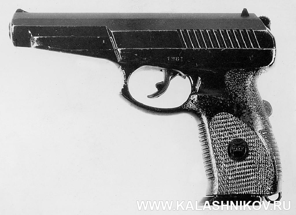9-мм пистолет 6П35 конструкции Сердюкова П. И.. Журнал Калашников