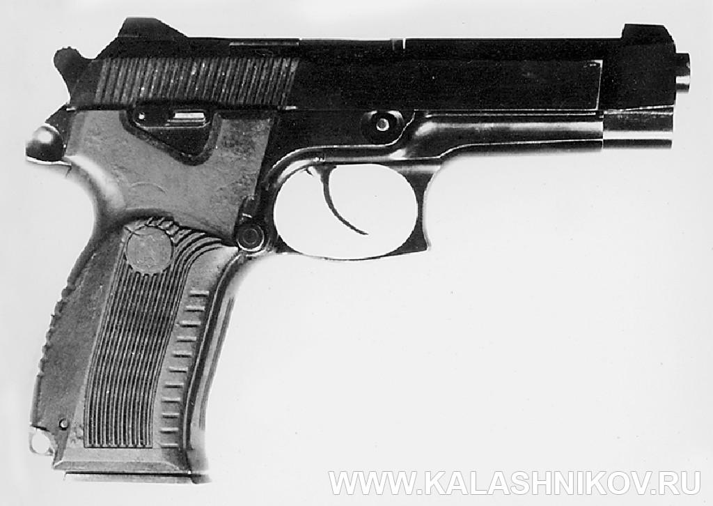 9-мм пистолет 6П35 конструкции Ярыгина В. А.. Журнал Калашников