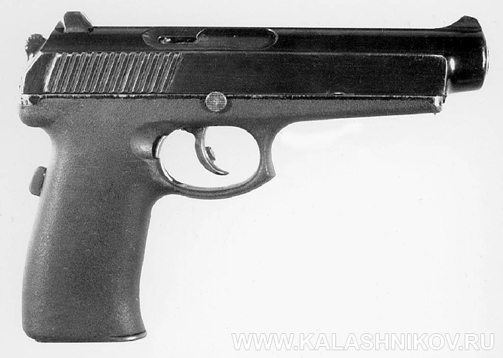 9-мм пистолет «Грач» 6П35. Журнал Калашников