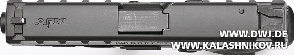 Пистолет Beretta APX. Прицельные приспособления. Журнал Калашников. DWJ